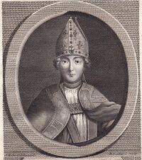 Portrait XVIIIe Guillaume Chartier Evêque de Paris Bayeux