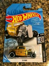2019 32 Ford Rod Squad Hot Wheels - Gold 105/250 ~ Shipping Discounts!