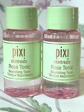 Pixi By Petra ~ Skintreats Rose Tonic Nourishing Toner 2 x 40ml ~ 1st Class Post