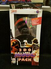 Factory Sealed New - Real 3DO - Maniac Pack - NTSC US - 4 Games - Ultra Rare