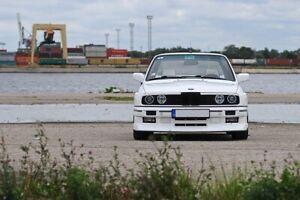 BMW E30 M3 EVO Lip For Front Bumper spoiler splitter Valance Eleron Apron Blade