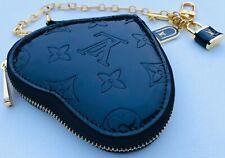 Louis Vuitton Monogram Vernis Heart Coin Purse Pouch or Wristlet San Valentino !