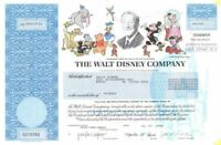 Walt Disney Company - Fully Issued Stock Certificate