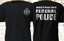 New Australian Federal Police AFP Special force Interpol Black T-SHirt S-4XL