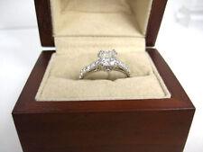 Diamond Ring 14K white gold Over Antique D/VVS1 Engagement Ring