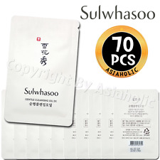 Sulwhasoo Gentle Cleansing Oil EX 4ml x 70pcs (280ml) Sample AMORE New Version