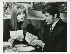 ROBERT HORTON JILL ST JOHN RESTAURANT THE SPY KILLER ORIGINAL 1971 ABC TV PHOTO