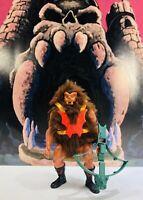 GRIZZLOR : 100% complete : Vintage figure : Masters of the Universe MOTU-He-man