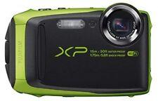 Fujifilm XP90 Waterproof Digital Camera Graphite with Lime