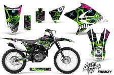 Yamaha TTR 230 Dirt Bike Graphic Sticker Kit Decal MX Wrap 2005-2015 FRENZY GRN