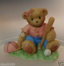"CHERISHED TEDDIE ""CALLIE"" 111307  PLAYING SOFTBALL MINT IN BOX"