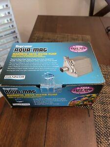 Danner Supreme Model 12 Aqua-Mag Magnetic Drive 1200 GPH Water Pump