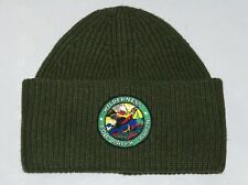 POLO RALPH LAUREN Men's Beanie Hat Wilderness Outdoors Skull Ski Watch Cap GREEN
