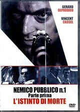 NEMICO PUBBLICO n.1 Parte Prima e Seconda 2DVD NEW Sigillati Editoriali
