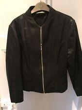 George @ Asda Ladies Leather Jacket Size 12