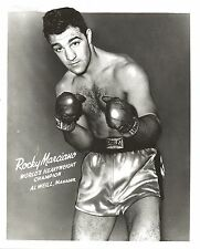 ROCKY MARCIANO 8X10 PHOTO BOXING PICTURE CLOSE UP HEAVYWEIGHT CHAMPION