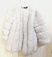 Ying Jia Mei Faux Fur Coat Jacket Gorgeous Design Size XXXL New With Tags