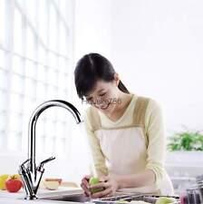 Chrome Kitchen Faucet Pull Out Vessel Sink Mixer Tap Swivel Spout