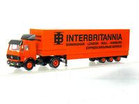 Herpa MB Lorry Interbritannia Birmingham London Hull Hamburg H0/1:87