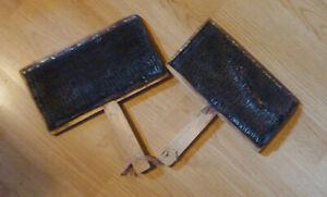 Schwedischer Handkarden 24cm x 13cm für Spinnwolle, Filzwolle ect. 1 x defekt