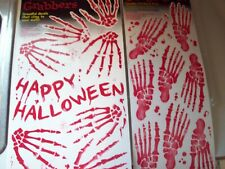 Halloween Wall Grabbers (Bloody Decals for Walls) & Floor Gore (For Floors) New!