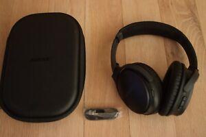 Bose Quietcomfort wireless noise cancelling headphones