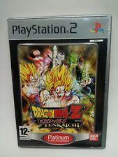 DRAGON BALL Z BUDOKAI TENKAICHI de PS2 PLATINUM MUY BUEN ESTADO