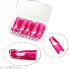 5Pcs/set Reusable Nail Form For Acrylic UV Gel Tips Tool Nail Art Supplies