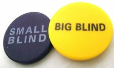 "Pair of 2"" Poker Buttons - Small Blind and Big Blind by Brybelly"