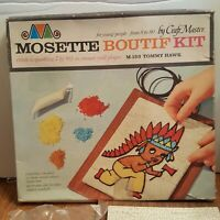 Vintage 1963 Craft Master Mosette Boutif Kit Wall Tommy Hawk M-153 NOS Rare HTF
