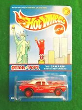 Hot Wheels Special Edition Otter Pops '67 Camaro, Kookie Red w/ Real Riders, NIP