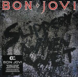 Bon Jovi - Slippery When Wet - New 180g Vinyl LP + MP3