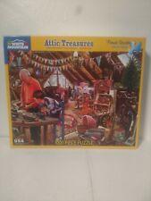 White Mountain 1000pc Puzzle Attic Treasures Steve Crisp 2018 Complete