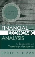 Riggs, Henry E. : Financial and Economic Analysis for Engi