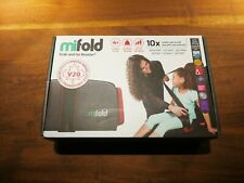 MIFOLD BOOSTER CAR SEAT SLATE GREY
