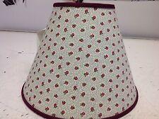 Mauve Flowers Lamp Shade Handmade Lampshade