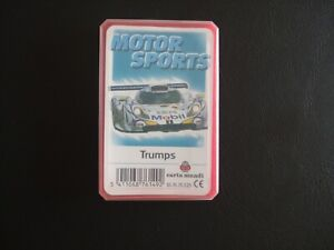 Motor Sports Trumps Cards