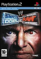 WWE SmackDown Vs. RAW PS2 Games