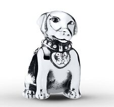 NEW 925 Sterling Silver European Bracelet Charm Bead Dog Pet Puppy