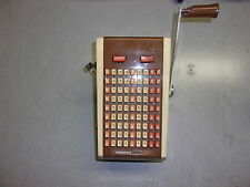 Hedman 2100 Vintage Check Writing Machine Check Protector *FREE SHIPPING*