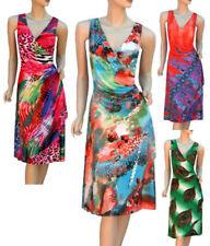 Party/Cocktail Stretch Wrap Dresses