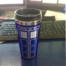 16 oz. Doctor who Tardis Mug Stainless Steel Vacuum Thermoses Cup Travel Mug