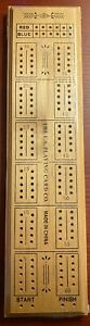 Bicycle Cribbage Game Wooden Board