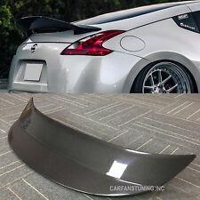 Carbon Fiber Spoiler For 09+ Nissan 370Z Z34 Fairlady Rear Ducktail Spoiler Wing