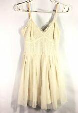 Forever 21 Tulle Party Dress Ballerina Size Medium Cream