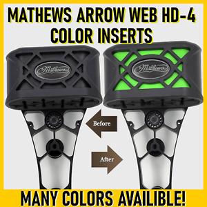 Official Mathews Color Inserts - Arrow Web HD 4 / HD 6 - PICK A COLOR - 8 COLORS