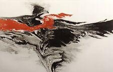 "Robert Katona ""War Eagle"" Hand Signed Limited Edition Fine Art Etching, bird"
