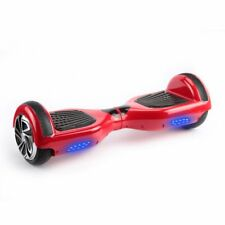 "6.5"" UL Listed Bluetooth Self-Balancing Electric Scooter Skateboard Red"