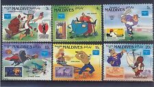 Maldivian Disney Asian Stamps