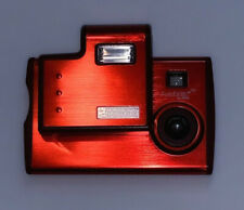 OSI Red 1.3MP Slot Flash Slim Digital Photo Camera DS6228